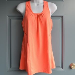 Kirkland Signature Striped Racer Back Tank Sz. Sm